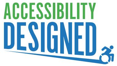 Accessibility Designed Logo