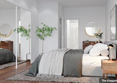 The Elegant Suite - Bedroom