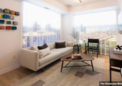 The Showcase Model Suite - Living Room